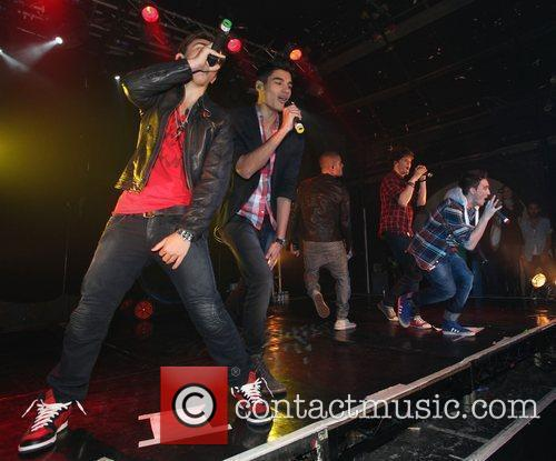'The Wanted' performing at G-A-Y