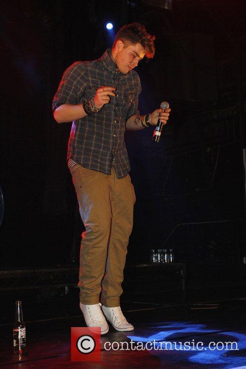 X-Factor finalist Aiden Grimshaw performing at G-A-Y nightclub...