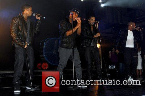 JLS performing at G-A-Y nightclub London, England