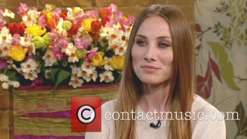 'holby City' Actress Rosie Marcel Appears On 'this Morning'. Shown On Itv1 2
