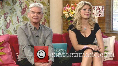 Phillip Schofield and Holly Willoughby appear on 'This...