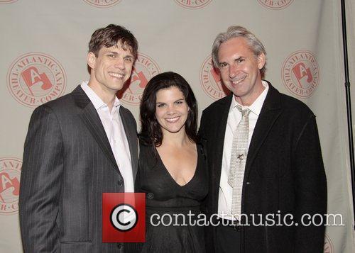 Lee Aaron Rosen with Diane Davis and David...