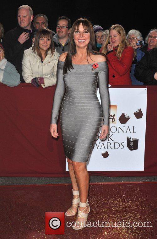 Carol Vorderman Galaxy National Book Awards held at...