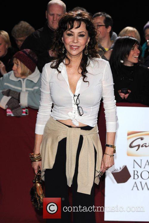 Marie Helvin Galaxy National Book Awards held at...