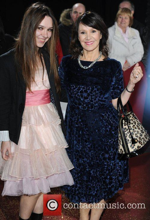 Arlene Phillips and daughter at Galaxy National Book...