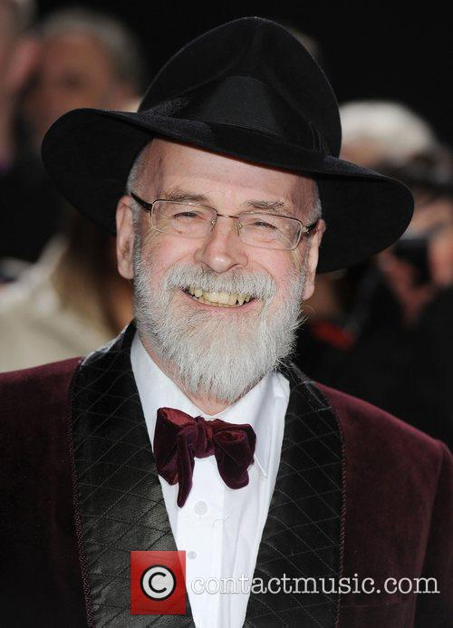 Terry Pratchett at Galaxy National Book Awards at...
