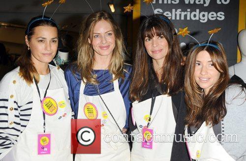 Yasmin Le Bon, Melanie Blatt and Trinny Woodall 1