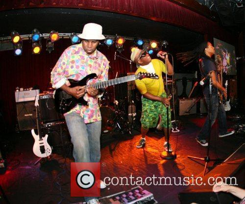 Vernon Reid and Corey Glover of Living Colour...