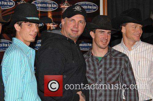 J. B. Mauney and Garth Brooks 4