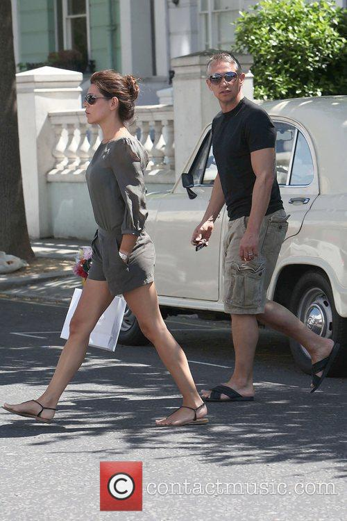 Gary Lineker and Danielle Bux out and about...