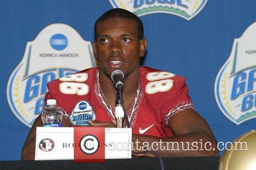 FSU wide receiver Rod Owens  speaks during...