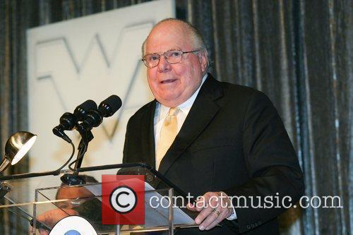 Verne Lundquist  during the final press conference...