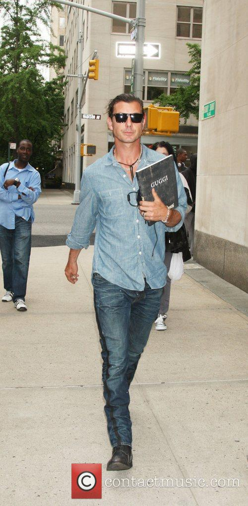 Gavin Rossdale out and about in New York