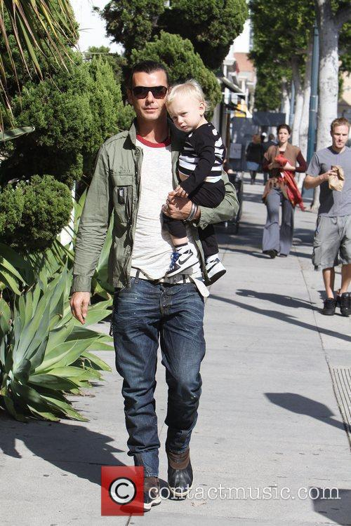 Gavin Rossdale and His Son Zuma Rossdale 1