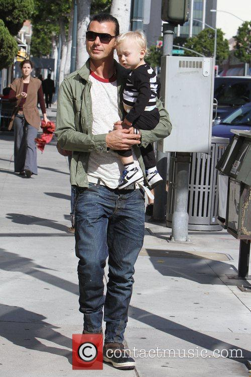 Gavin Rossdale and His Son Zuma Rossdale 3