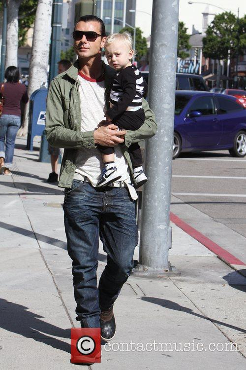 Gavin Rossdale and His Son Zuma Rossdale 4