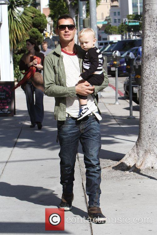Gavin Rossdale and His Son Zuma Rossdale 2