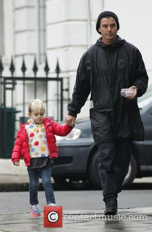 Gavin Rossdale and Son Kingston 2