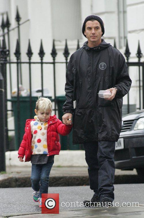 Gavin Rossdale and Son Kingston 4