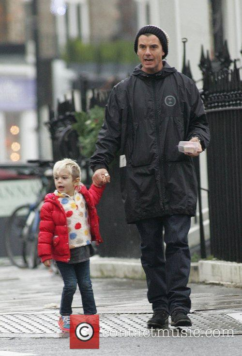 Gavin Rossdale and Son Kingston 1