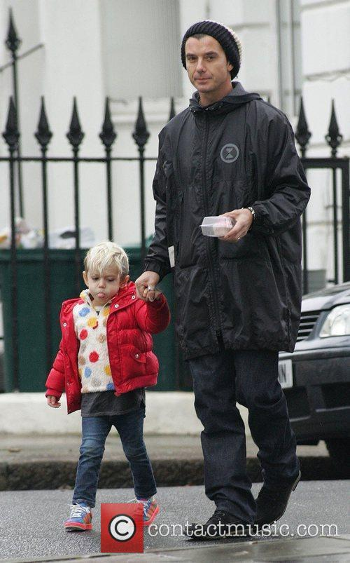 Gavin Rossdale and Son Kingston 3