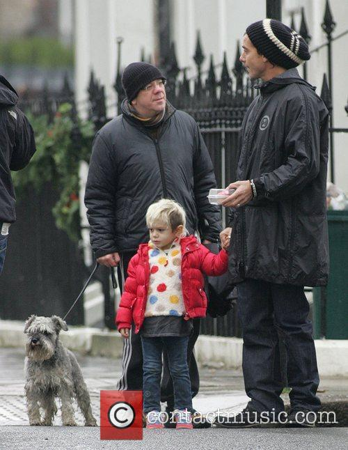 Gavin Rossdale and Son Kingston 6