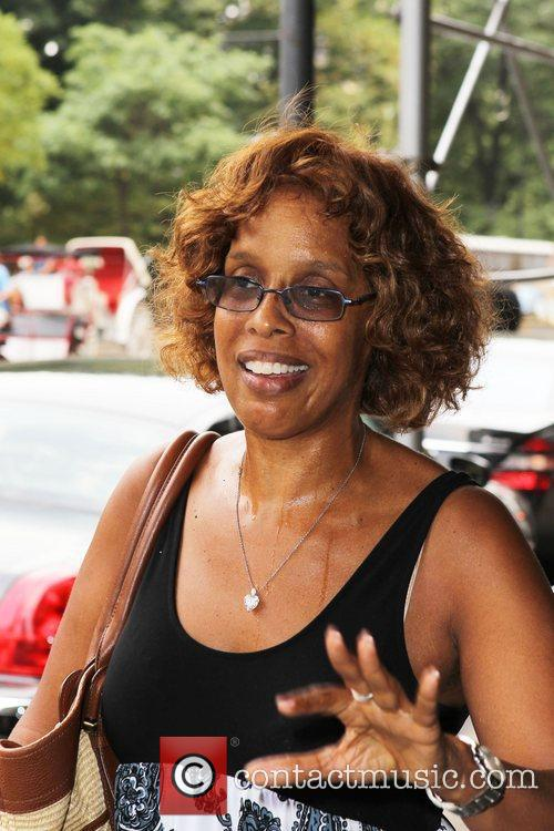 Gayle King was spotted walking uptown in New...