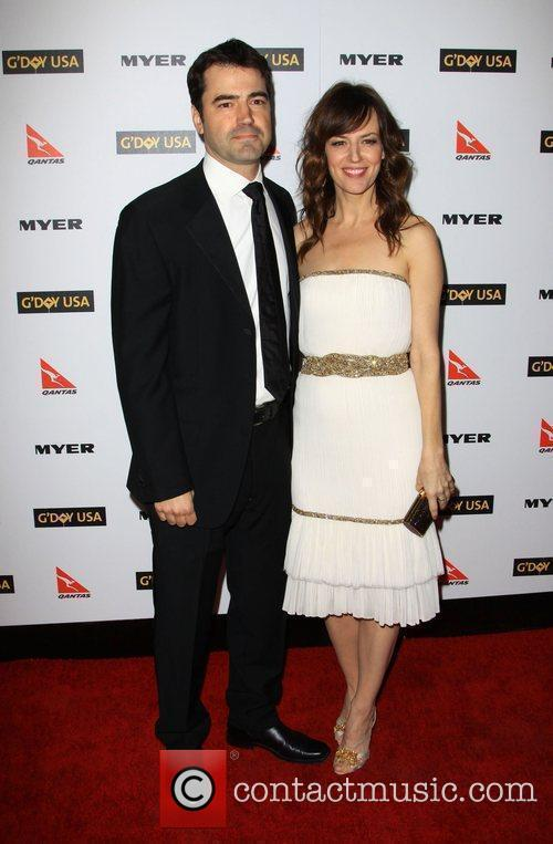 Ron Livingston and Rosemarie Dewitt 7