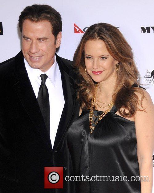 John Travolta, Abbie Cornish, Barry Gibb and Kelly Preston 3