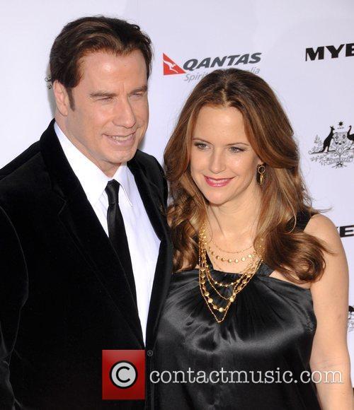 John Travolta, Abbie Cornish, Barry Gibb and Kelly Preston 2