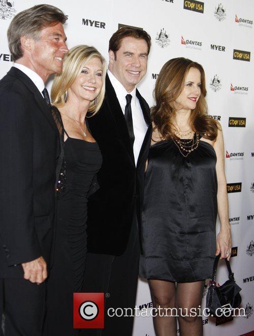 John Easterling, Abbie Cornish, Barry Gibb, John Travolta, Kelly Preston and Olivia Newton-john 4