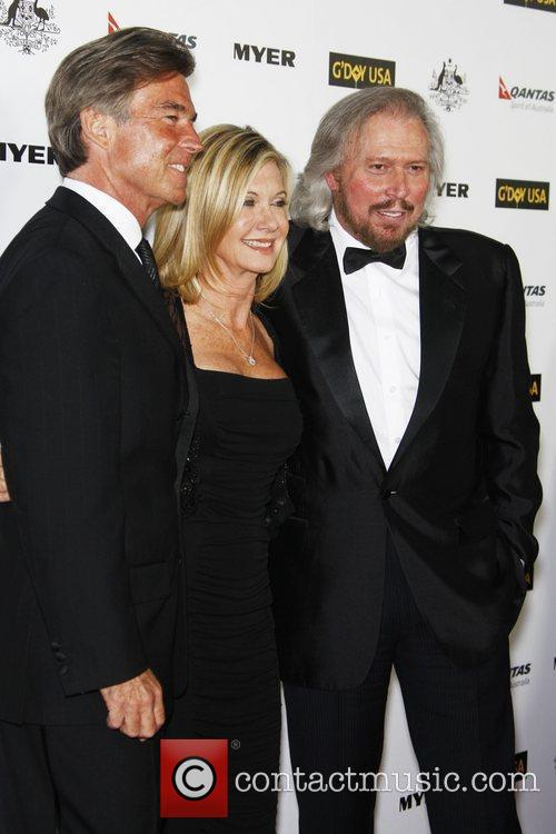 John Easterling and Olivia Newton John and Barry...