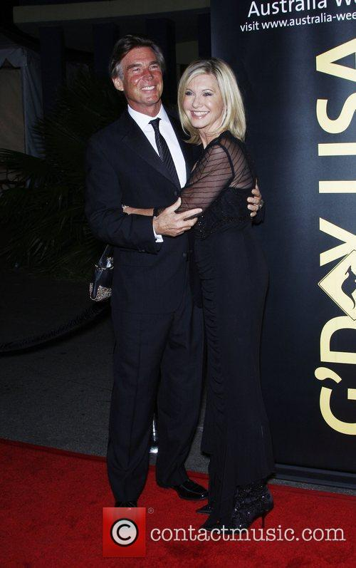 John Easterling and Olivia Newton John 2011 G'Day...