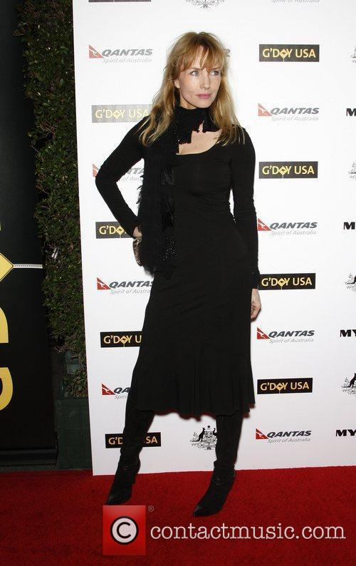 Rebecca De Mornay, Abbie Cornish and Barry Gibb