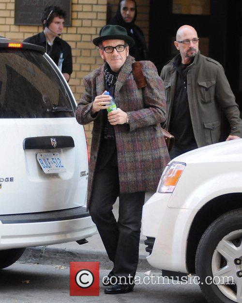 Elvis Costello  celebrities attending the 25th Gemini...