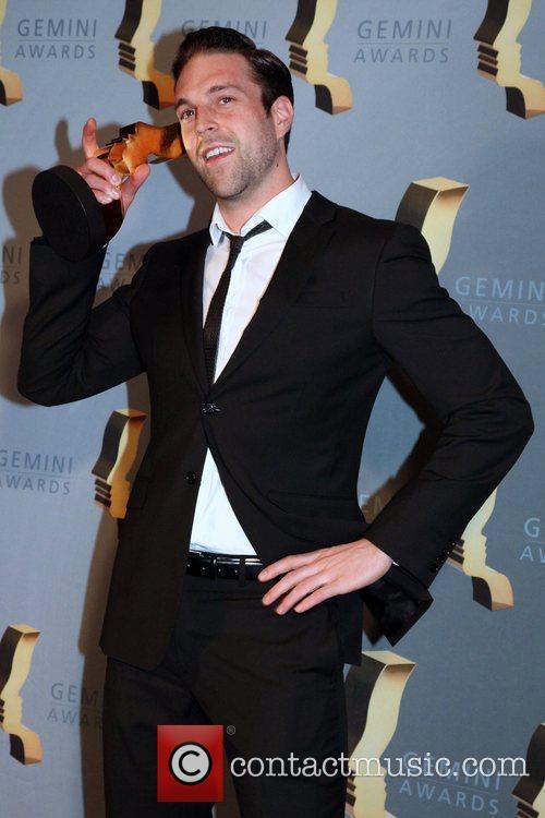 Benjamin Arthur  The 25th Gemini Awards press...
