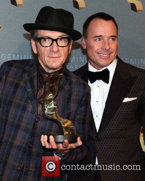 Elvis Costello and David Furnish  The 25th...