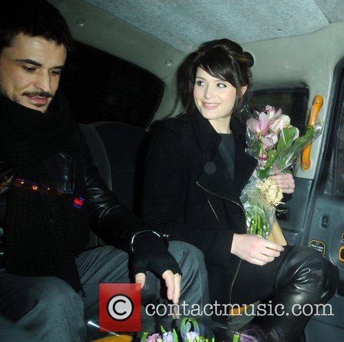 Gemma Arterton  leaving the Garrick Theatre in...
