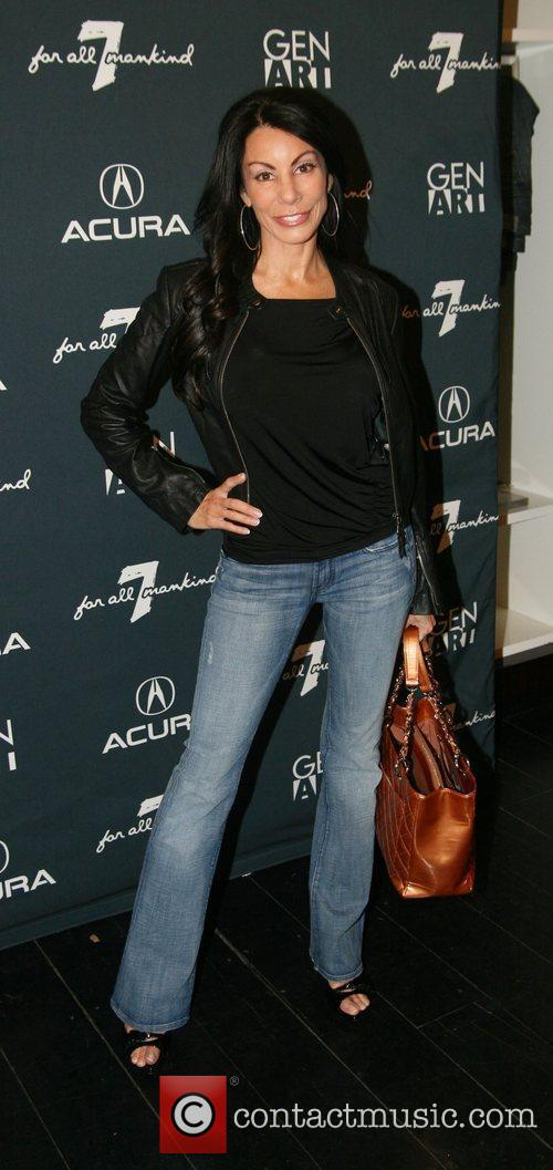 Danielle Staub attends the launch party for the...