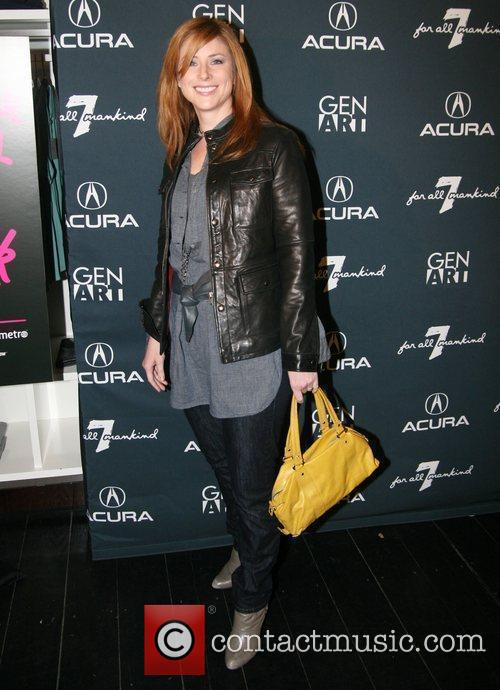 Diane Neal attends the launch party for the...