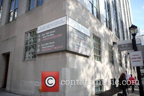 General view of New York Presbyterian Hospital where...