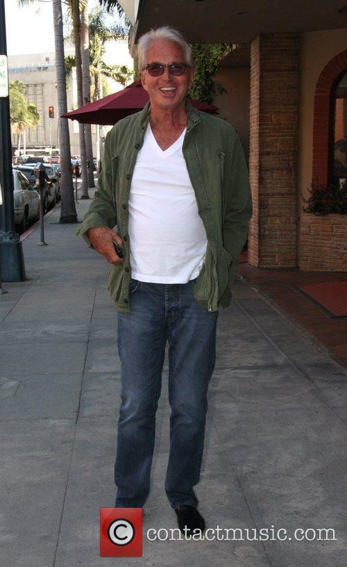 George Hamilton leaves a salon in Beverly Hills...
