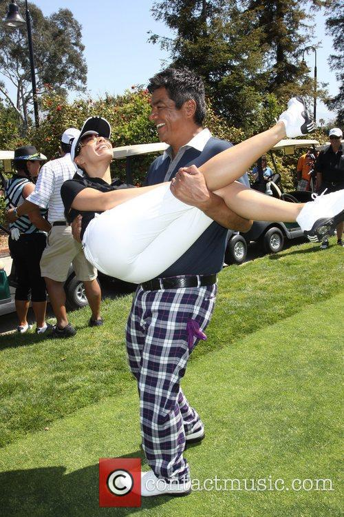 Aimee Garcia and George Lopez 2