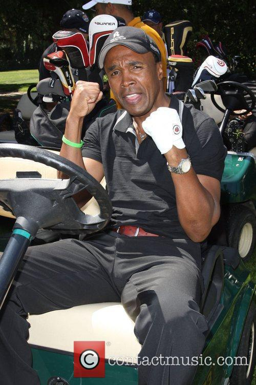 Sugar Ray Leonard Launch of the Ann and...