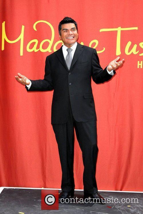 George Lopez wax figure Madame Tussaud's George Lopez...