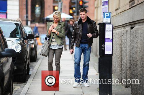 Steven Gerrard and Alex Curran 8