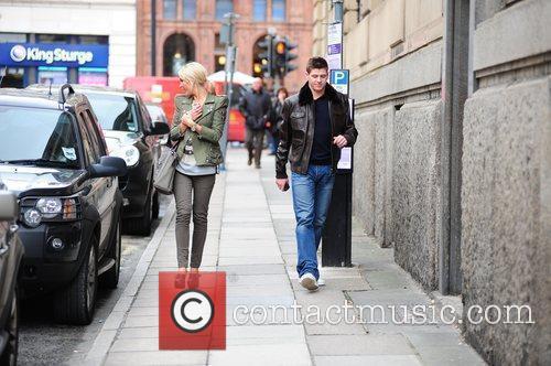 Steven Gerrard and Alex Curran 12