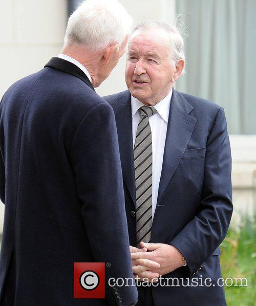 Albert Reynolds The funeral of RTE broadcaster Gerry...