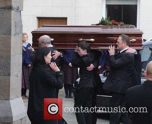 Elliot Ryan The funeral of RTE broadcaster Gerry...