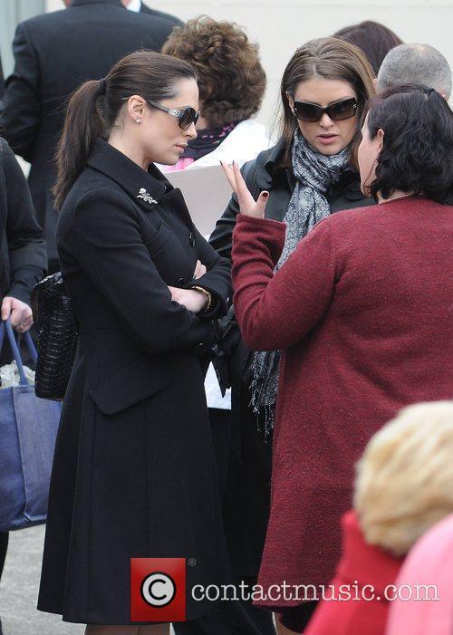 Grainne Seoige, Sile Seogie The funeral of RTE...